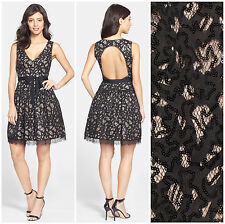 FELICITY & COCO  *MEGAN* SEQUIN LACE OPEN BACK  DRESS  Sz M  Nordstrom  NWT $168