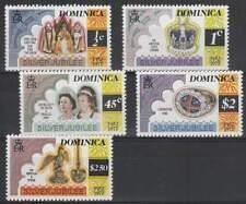Silver Jubilee Elisabeth II postfris 1977 MNH Dominica (25b43)