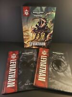 Shield of Baal: Leviathan by Warhammer 40,000 and The Rules - 2 BOOK SET - HC VG