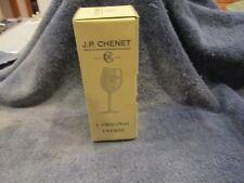 J P CHENET Bent Stem Winte Goblet in Original Box