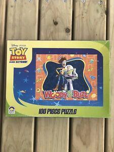 Toy Story 100 Piece Jigsaw Puzzle Woody & Buzz - 1 Piece Missing.