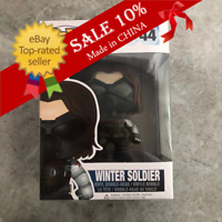 "Funko Pop! Marvel Captain America Winter Soldier #44 Rare ""Mint""。With Protector"