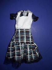 Monster High Doll Clothes Ghouls Alive Frankie Outfit Dress