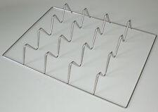 Räucherschrank Fischrost/Wellenrost, Edelstahl  V2A, 36x26 cm, bis 4 Fische
