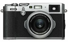 Fuji X100F 24.3MP Camera with 23mm f/2.0 Fujinon Lens Kit - Silver