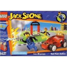 LEGO 4621 Jack Stone Red Flash Station - Light & Sound New in Box, From 2002