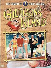 Gilligans Island   The Complete Third Season  DVD  2005  3 Disc Set