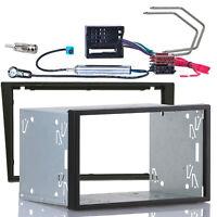 Radio Blende Adapter Kabel Set für OPEL Meriva Vivaro SUZUKI Ignis Doppel DIN