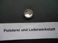 25 Ziernägel/Polsternägel Kristal / Swarowski m. Silberfassung 11,5mm Durchmess