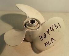 Johnson Evinrude OMC Sterndrive Propeller 10X12 RH 307431 Aluminum Old Stock