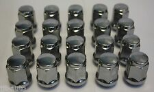 20 X M12 X 1.5 TAPERED ALLOY WHEEL NUTS FIT KIA RETONA JEEP SORENTO SPORTAGE