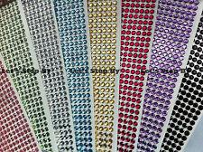 504 pcs 6mm Self Adhesive Rhinestone Crystal Bling Stickers Round iphone auto