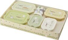 Totoro Storage Containers 5pc with mini towel in gift box Bento Studio Ghibli