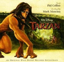 TARZAN CD - SOUNDTRACK (1999) - NEW UNOPENED - PHIL COLLINS - DISNEY