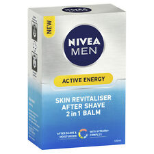Nivea Men Active Energy Skin Revitaliser After Shave 2 in 1 Balm 100ml