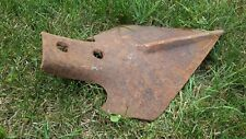 Vintage! FARM CULTIVATOR PLOW SPADE HEAD ONLY Rusted Art Decor
