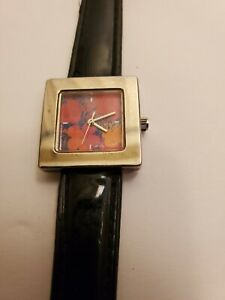 Vintage ANDY WARHOL Flowers Limited Edition Numbered Les Parfums Watch