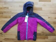 NWT Columbia Girls EXPLORE S'MORE Fleece Interchange Jacket 3-in-1 Small S 7/8