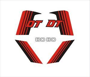 Yamaha DT80MX Decal Set