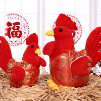 Plush Rooster Toys Stuffed Animals Soft Chinese Doll Gift for kids 35cm.