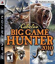 Cabela's Big Game Hunter 2010 PS3 - LN