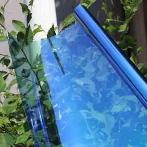 50x300cm 55%VLT Chameleon Nano Ceramic Film Car Front Windshield Side Tint Solar