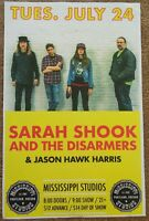SARAH SHOOK & THE DISARMERS 2018 Gig POSTER Portland Oregon Concert