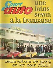 SPORT AUTO 37 1965 FOURNIER MARCADIER ASA 1000 GT FLAVIA COUPE GP AFRIQUE DU SUD