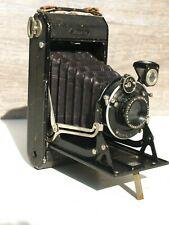 Vintage Zeiss Ikon Ikonta 520 6 x 9 cm Folding Camera Telma Shutter Dominar Lens