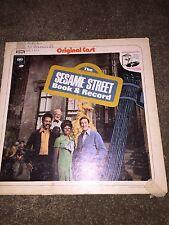 Sesame Street Book and Record_1970_Columbia Stero_Vinyl_LP