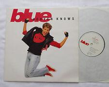 "BLUE Heaven knows RARE UK ORIG 12"" EP MERCURY MERX 319 (1990) synth pop NMINT"