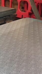 Aluminium Stucco Flat Sheet Steel - Various Sizes