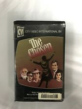 The Chosen Ex-Rental Vintage Big Box VHS Tape English with dutch subs