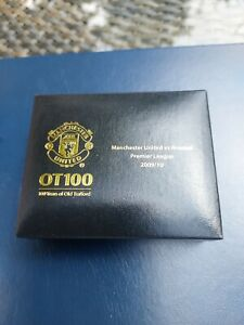 MANCHESTER UNITED/MAN UTD EXECUTIVE 100YRS OF OLD TRAFFORD COINS v ARSENAL