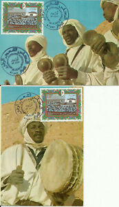 FDC , Postcards and FDS Algeria 1977 3