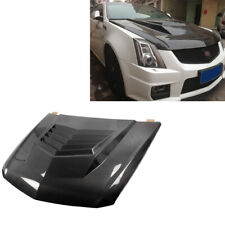 Engine Hood Bonnet Cover Body Kits for Cadillac CTS-V Coupe 11-13 Carbon Fiber