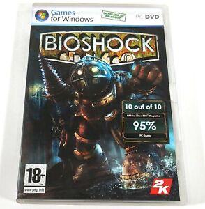 PC DVD Game For Windows Bioshock Genetically Enhanced Shooter E385