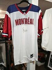 Ben Cahoon Montreal Alouettes Signed CFL Jersey