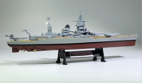 New 1/1000 Scale WWII French Navy Dunkerque-1942 Battleship Display Alloy Model
