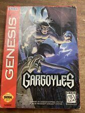 Gargoyles For Sega Mega Drive Sega Genesis Boxed No Manual Rare (See My Others)
