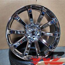 22 SRT-8 Style 10 Spoke Chrome Wheels Fits 300C Dodge Charger Challenger Magnum