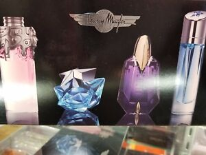 Thierry Mugler 4 Piece TRAVEL EXCLUSIVE Miniatures Collection Coffret 5 ml 0.17o