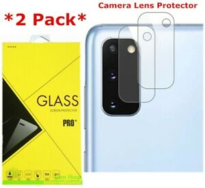 2-Pack Camera Lens Tempered Glass Screen Protector For Samsung Galaxy S20 FE 5G