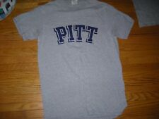 NCAA, Pitt Panthers vintage team logo tee, adult small, vg condition