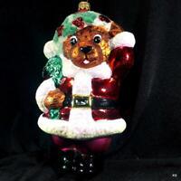RADKO 1998 COOKBOOK SANTA CHRISTMAS ORNAMENT NWT RARE RETIRED