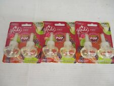 6 - Glade Plug Ins Berry Pop Limited Edition 2 In A Pack Kw 1232