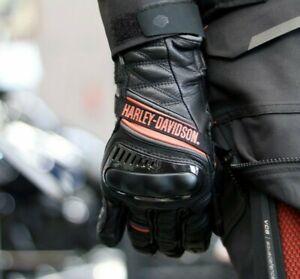 Harley-Davidson® Women's Passage Adventure Gauntlet Gloves, Black 98188-21VW