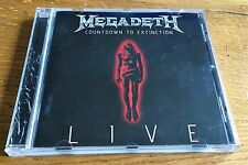 MEGADETH Countdown to Exctinction Live - CD
