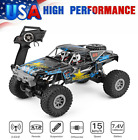 Wltoys RC Car 1:10 Scale 4WD 2.4Ghz Off-road Remote Control Car Toy fr Kids I6P9