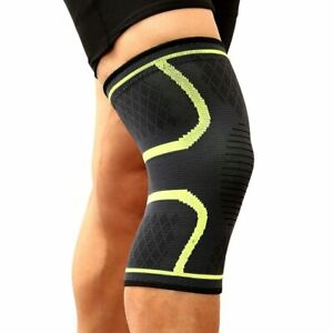 Fitness Running Cycling Knee Support Braces Elastic Nylon Sport Compression Knee